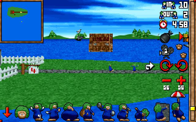 3D Lemmings screenshot 1