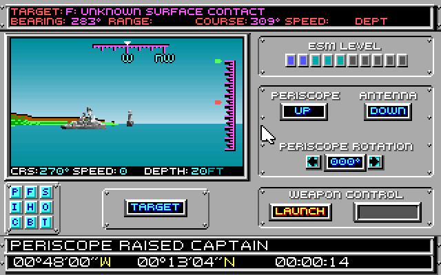 688 Attack Sub screenshot 1