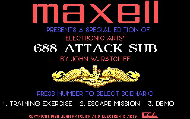 688 Attack Sub screenshot 3
