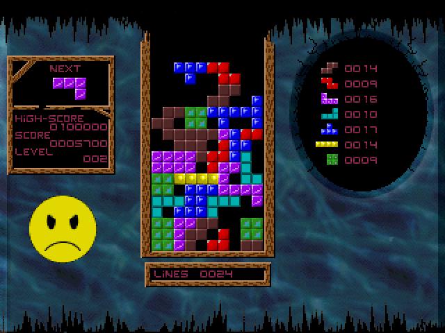 Acid Tetris screenshot 1