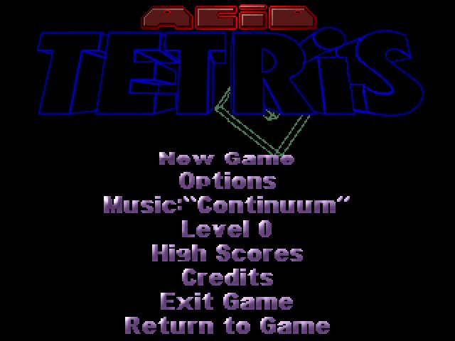 Acid Tetris screenshot 3