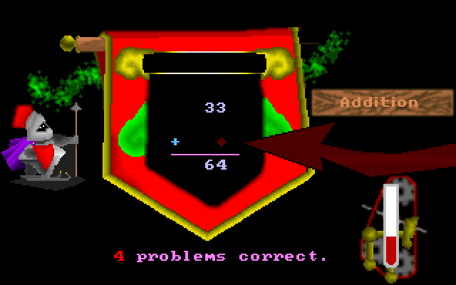 Adventure Math screenshot 1