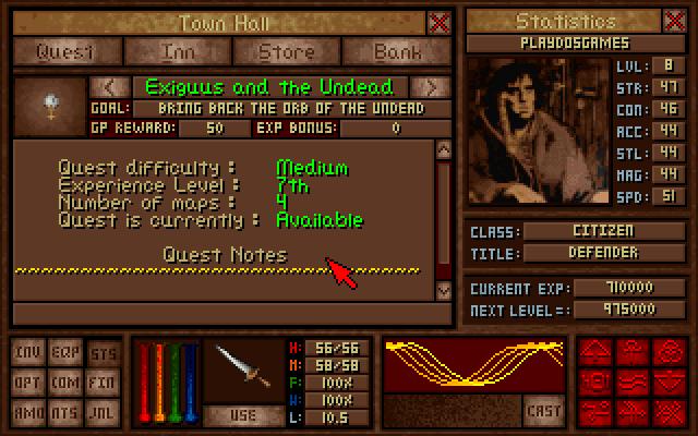 Amulets & Armor screenshot 2