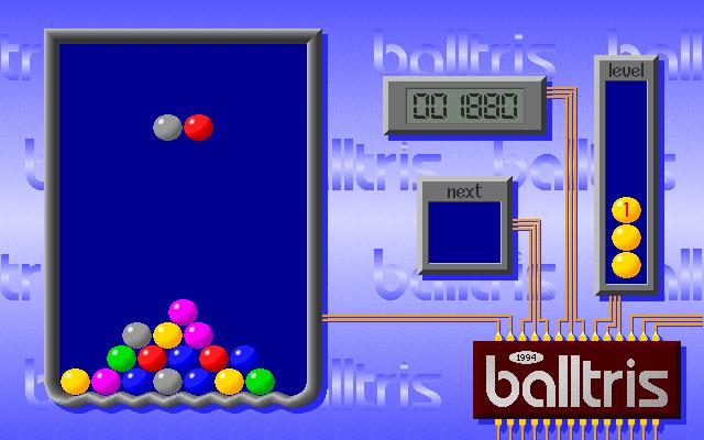 Balltris screenshot 1