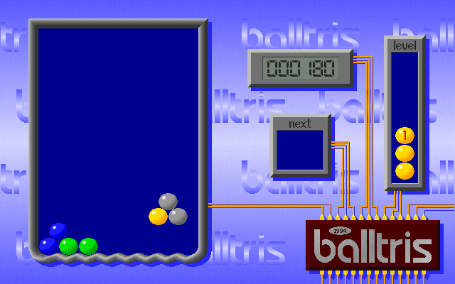 Balltris screenshot 2
