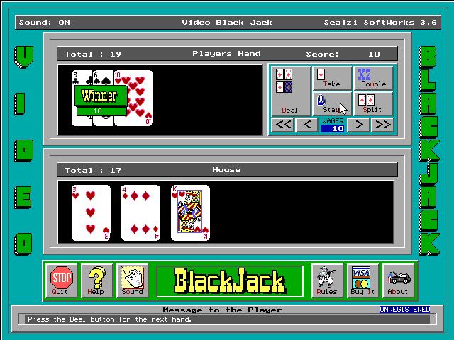 BlackJack screenshot 2