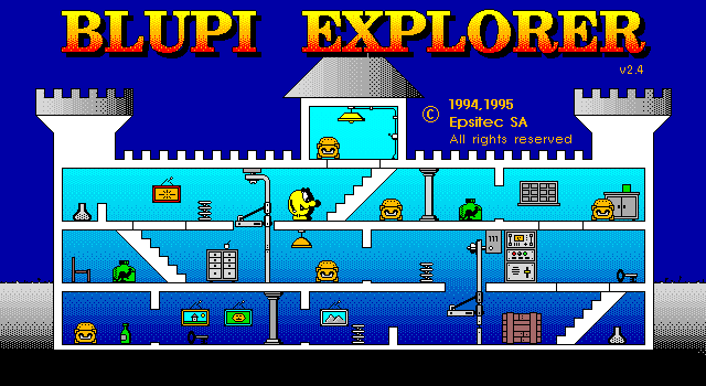 Blupi Explorer screenshot 3