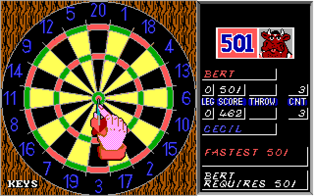 Bully's Sporting Darts screenshot 1
