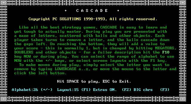 Cascade screenshot 3
