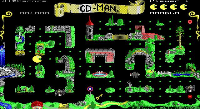 CD-Man screenshot 1