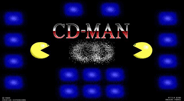 CD-Man screenshot 2