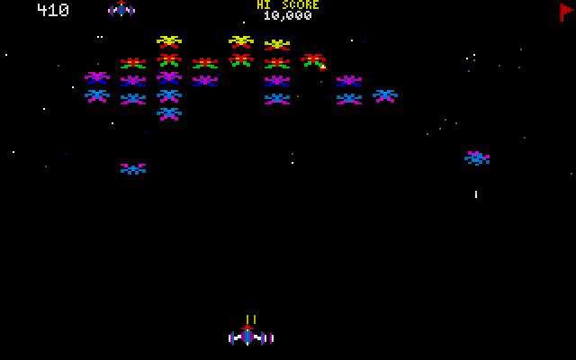 CHAMP Galaxian screenshot 1