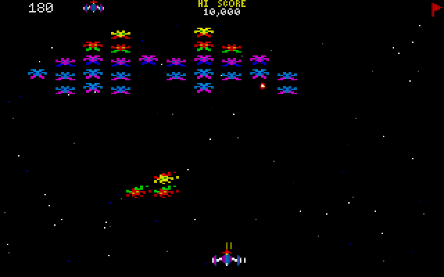 CHAMP Galaxian screenshot 2