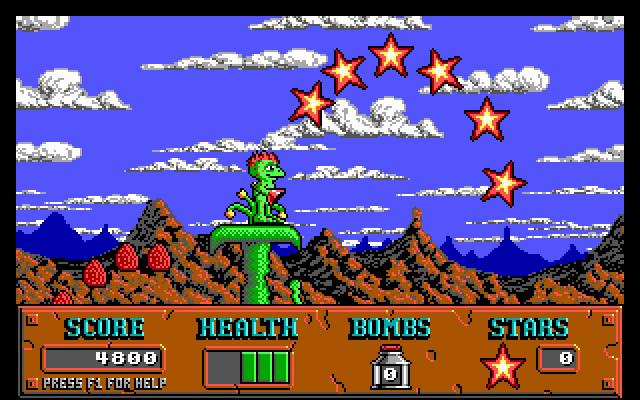 Cosmo's Cosmic Adventure screenshot 1