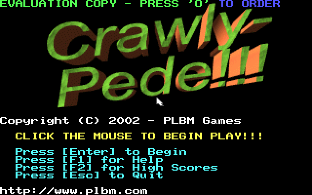 Crawly-Pede screenshot 3