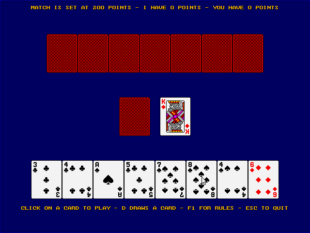 Crazy Eights screenshot 2