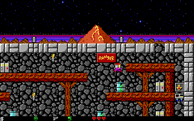 Crystal Caves screenshot 2