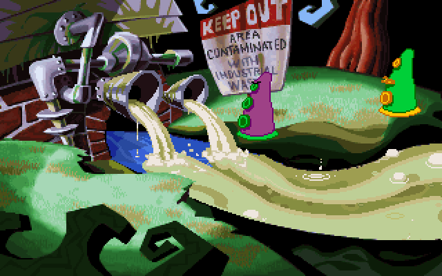 Day of the Tentacle screenshot 1