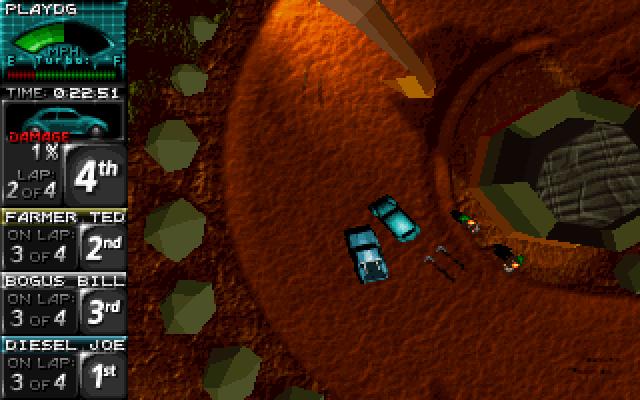 Death Rally screenshot 1