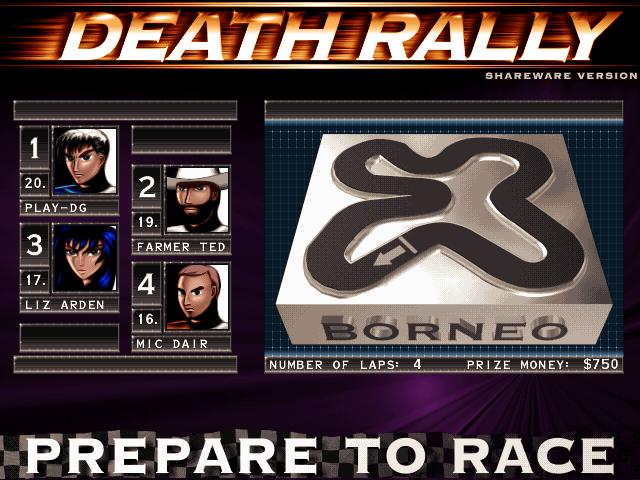 Death Rally screenshot 2