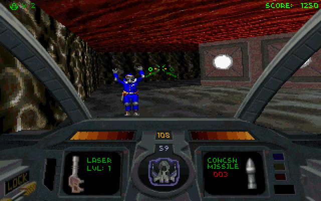 Descent 2 screenshot 1