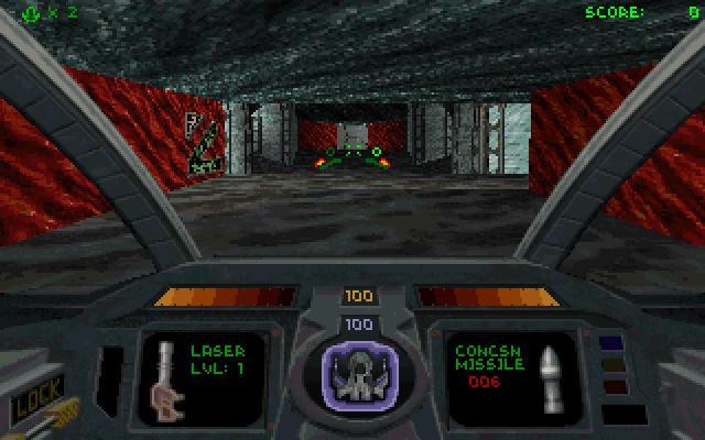 Descent 2 screenshot 2