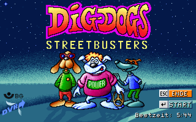 Dig Dogs Streetbusters screenshot 3