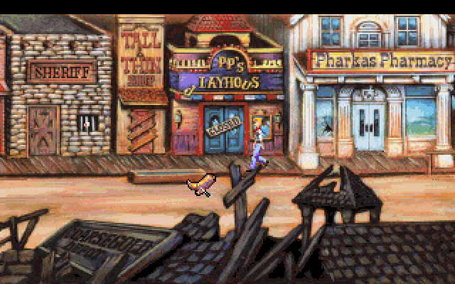 Freddy Pharkas: Frontier Pharmacist screenshot 2