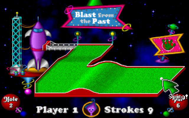 Fuzzy's World of Miniature Space Golf screenshot 1