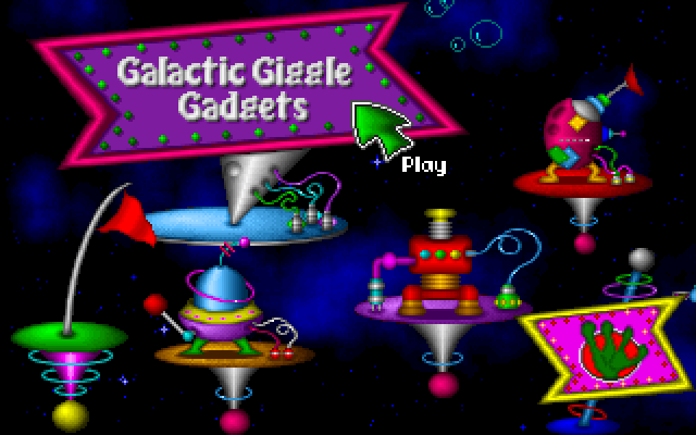 Fuzzy's World of Miniature Space Golf screenshot 2