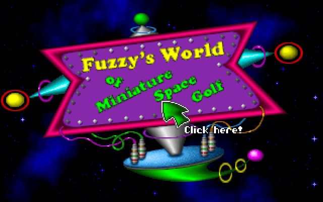 Fuzzy's World of Miniature Space Golf screenshot 3