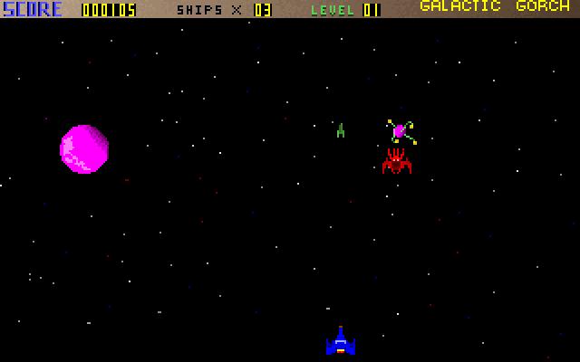 Galactic Gorch screenshot 1