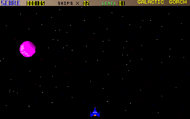 Galactic Gorch screenshot 3