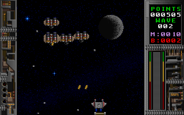 Galactix screenshot 1