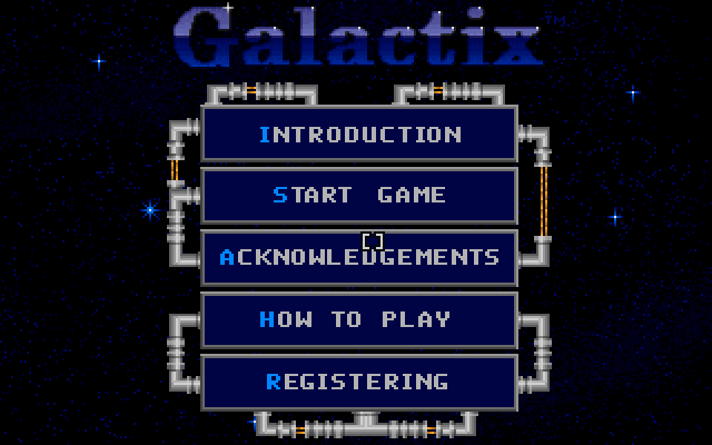 Galactix screenshot 3