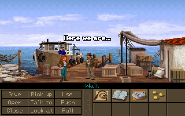Indiana Jones and the Fate of Atlantis screenshot 1