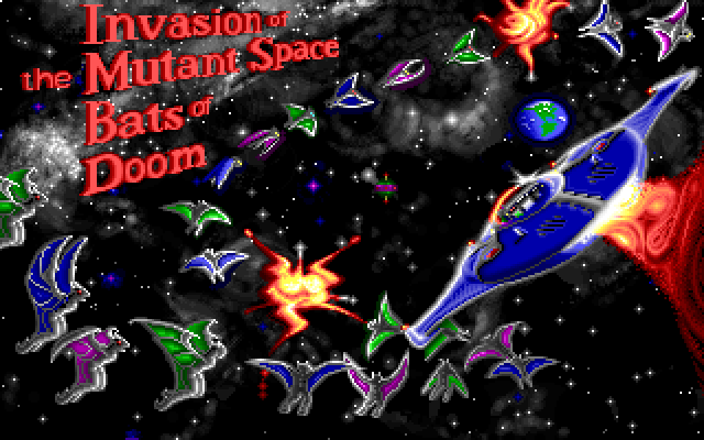 Invasion of the Mutant Space Bats of Doom screenshot 3