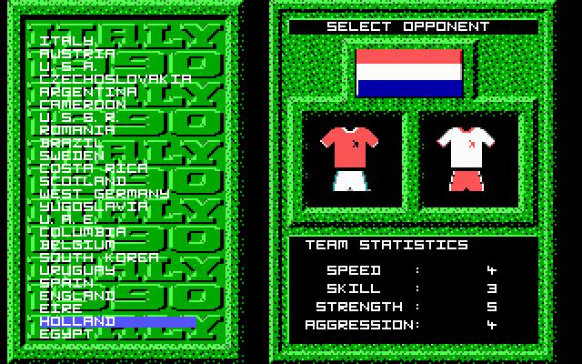Italy 90 screenshot 2