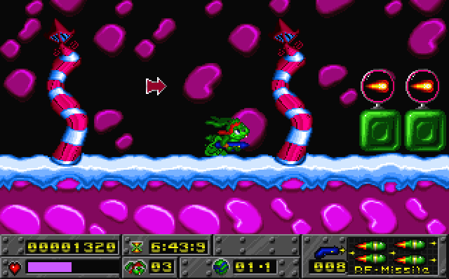 Jazz Jackrabbit Holiday Hare screenshot 2