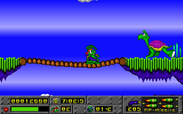 Jazz Jackrabbit screenshot 2