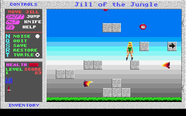 Jill of the Jungle screenshot 1