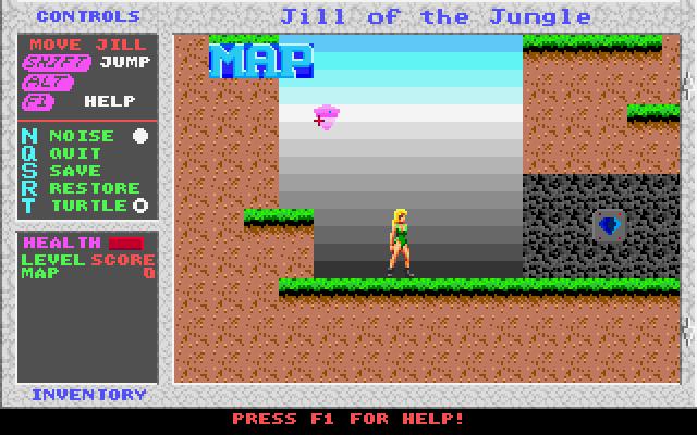 Jill of the Jungle screenshot 2