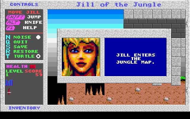 Jill of the Jungle screenshot 3