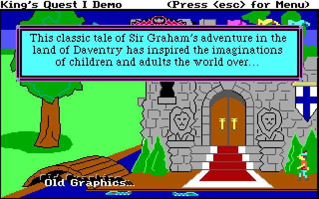 King's Quest I: Quest for the Crown screenshot 1