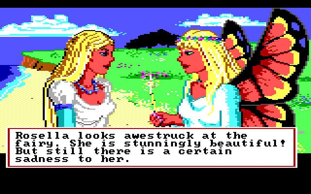 King's Quest IV: The Perils of Rosella screenshot 1