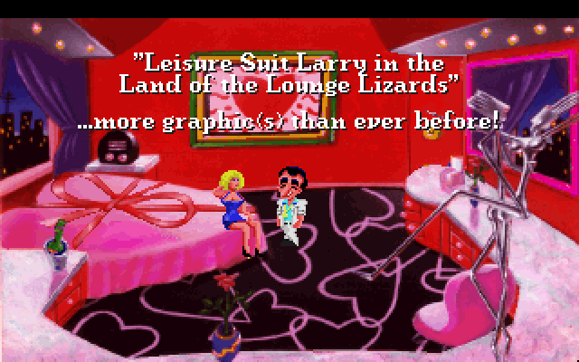 Leisure Suit Larry in the Land of the Lounge Lizards screenshot 1