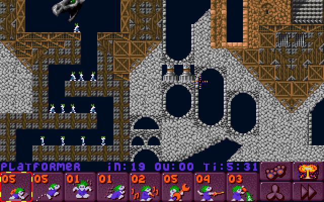Lemmings 2: The Tribes screenshot 1