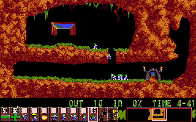 Lemmings screenshot 1