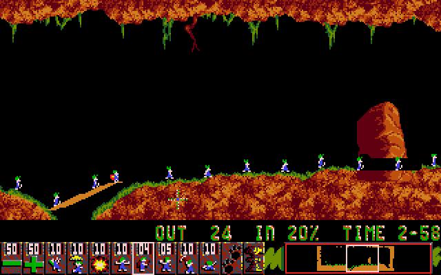 Lemmings screenshot 2