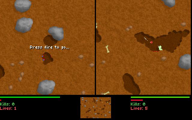 Liero screenshot 1